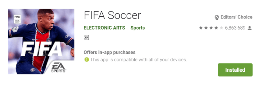 FIFA Soccer for Mac