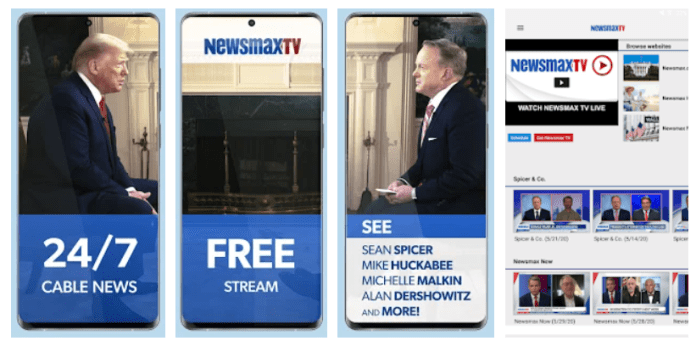 Newsmax TV on PC