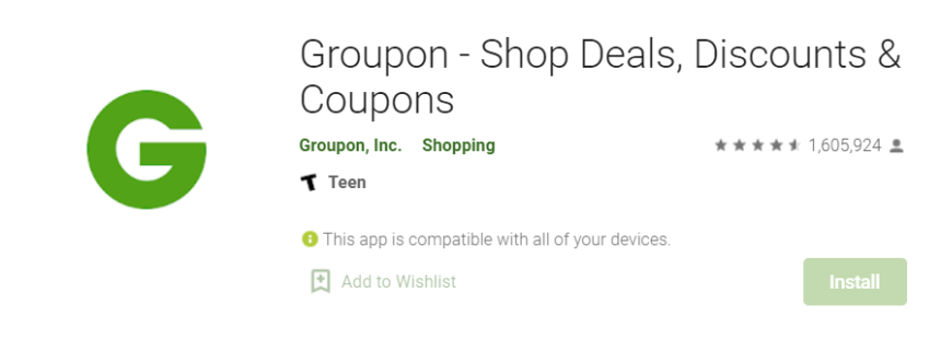 Groupon for Mac
