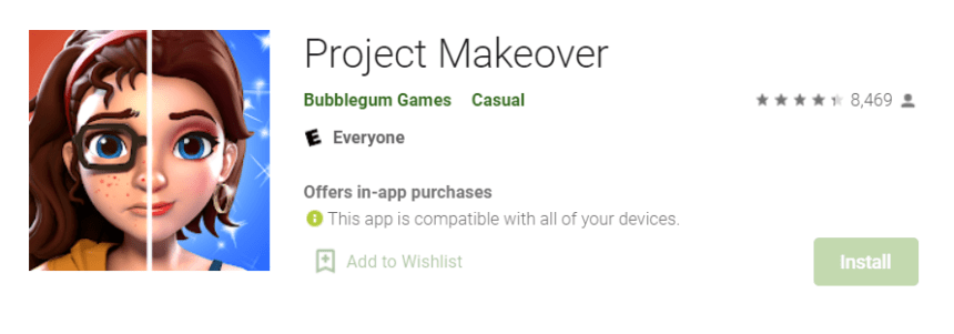 Project Makeover for Mac