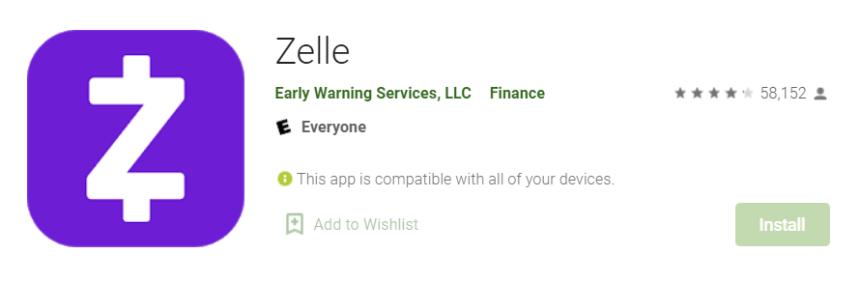 Zelle for Mac