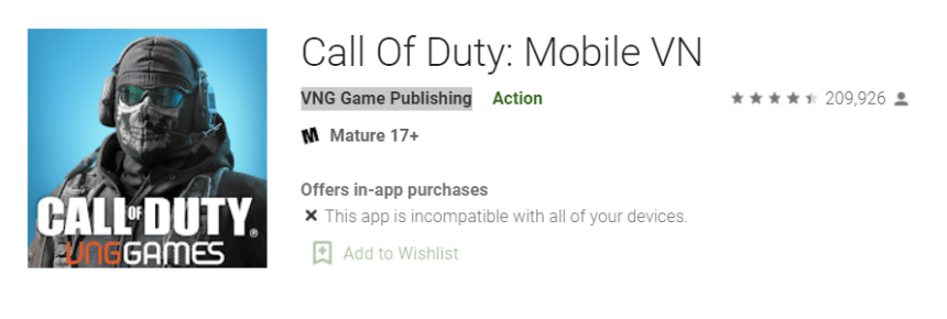 Call of Duty Mobile VN for Mac