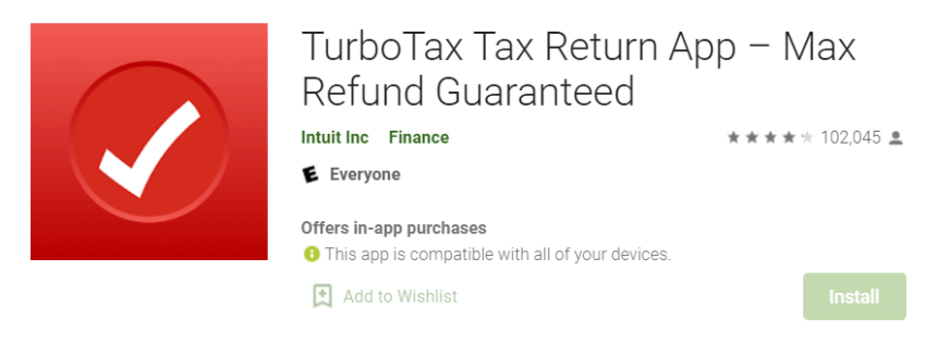 TurboTax for PC