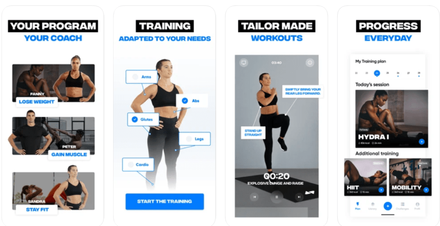 Fitness Coach app PC download