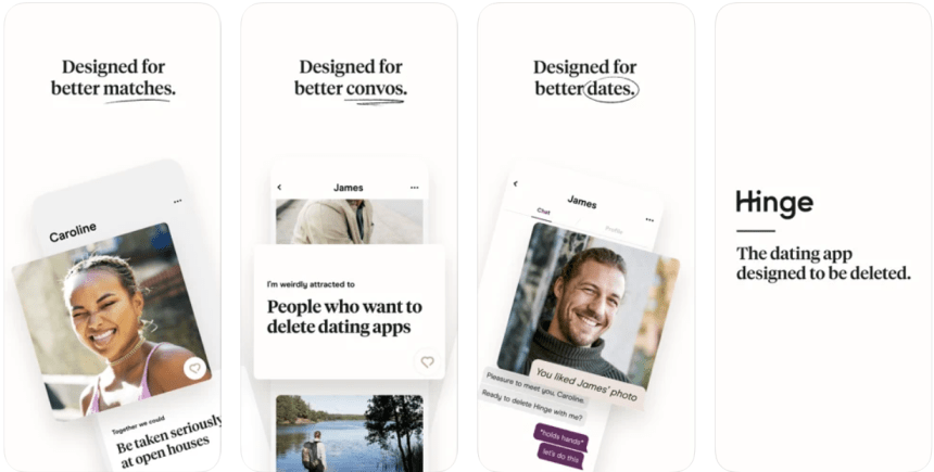 Hinge for PC app download