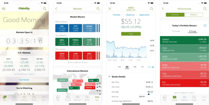 Fidelity Investment app PC download