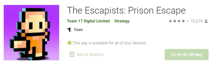 Escapists for Mac