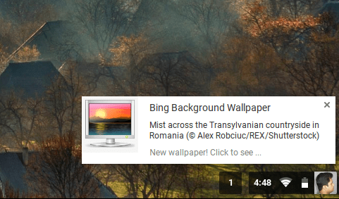 Bing background images as chromebook wallpaper - Chrome web store wallpaper ...