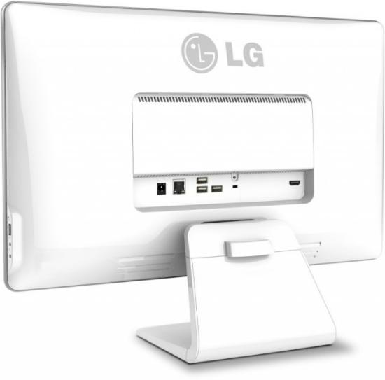 LG Chromebase Ports on backside