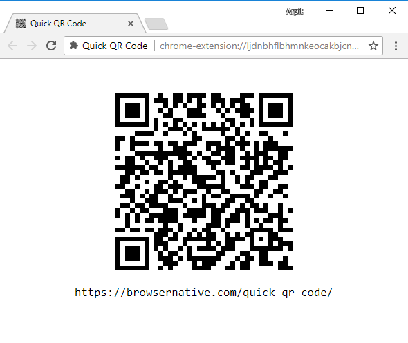 qrcode-chrome-extension