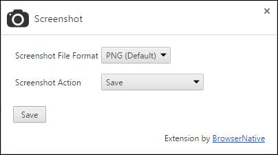 screenshot-extension-options