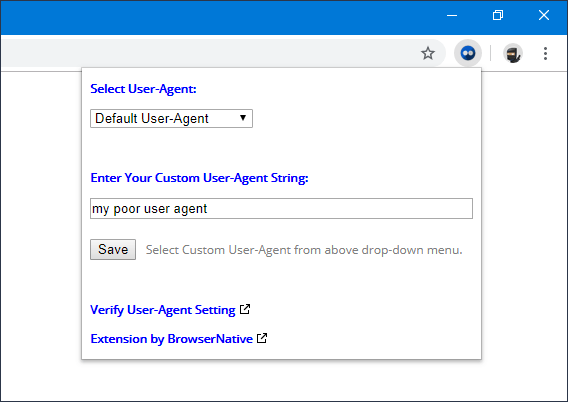 user-agent-switcher-chrome-extension