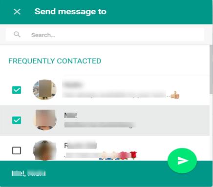 WhatsApp Web Chrome Extension - Share on WhatsApp Button