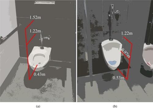 公衆トイレには大量の汚染微粒子が漂っている