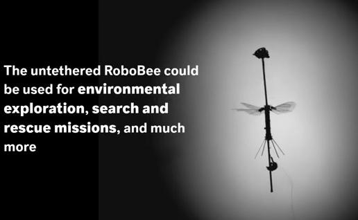 世界最軽量の重さ0.259gの羽ばたくロボット