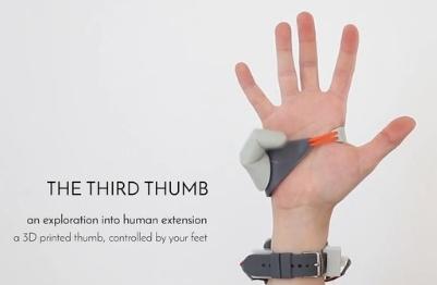 6本目の指として使える義指デバイス