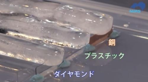 ダイヤモンドは熱伝導性が銅より高い
