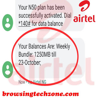 how to activate airtel 1GB for N200