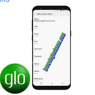 Glo APN settings