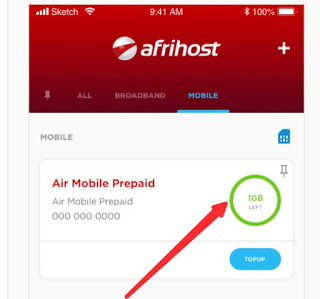 How to claim Afrihost free data