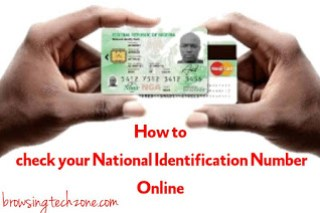 How To Check Your NIN Number Online