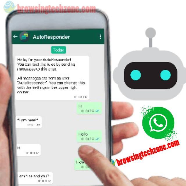WhatsApp auto reply bot