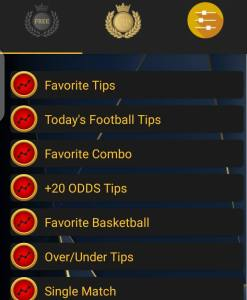 features of favorite betting tips free version