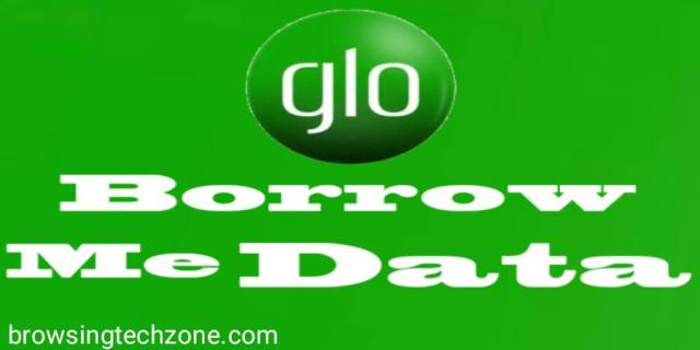 how to borrow data from Glo
