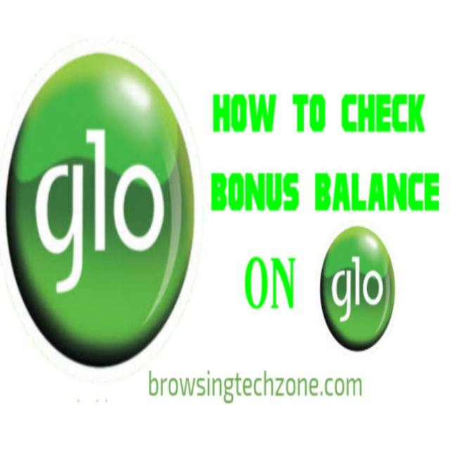 how to check bonus balance on glo