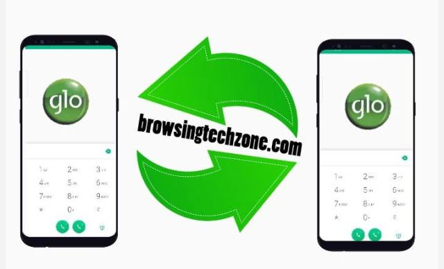 how to transfer data on glo
