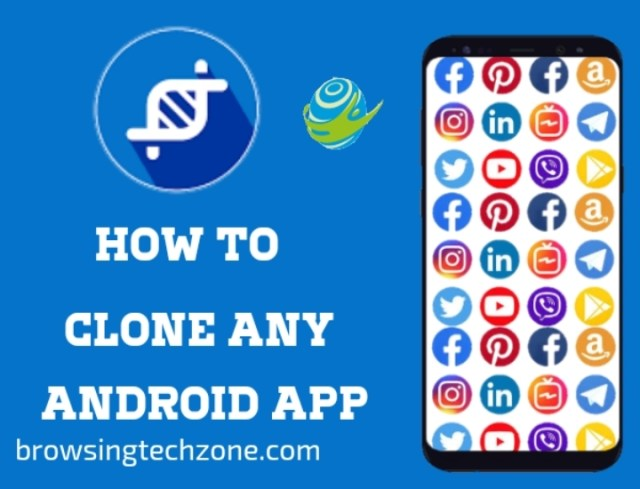 How to clone app on android