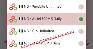Airtel free 500mb per day