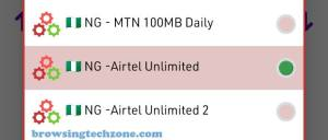 Stark VPN settings for Airtel unlimited free browsing cheat.