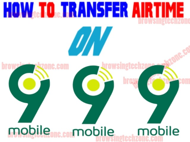 How to transfer Airtime on 9mobile to 9mobile