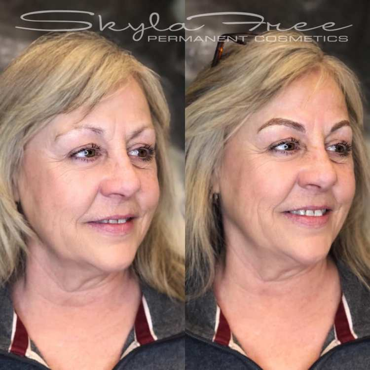Microbladed eyebrows by Bliss Beauty & Brows Boutique in Kansas City Missouri