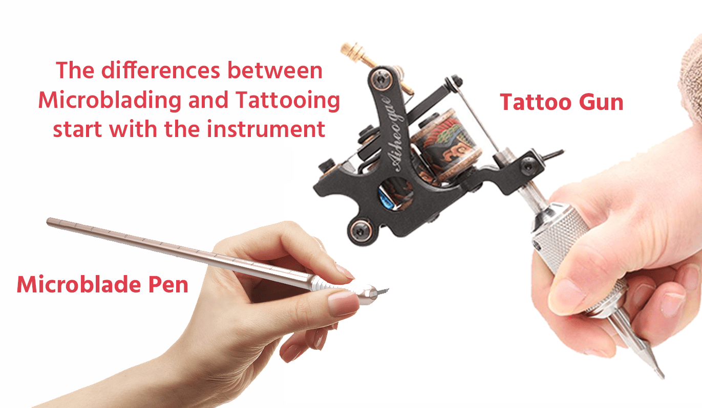 beaverton microblade pen vs. tattoo gun image