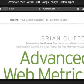 Download Advanced Web Metrics with Google Analytics