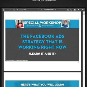 Download Facebook Ads Workshop