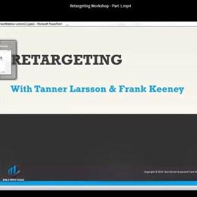 Download Tanner Larsson - Retargeting Crash Course