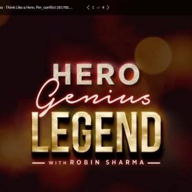 Download Robin Sharma – Hero Genius Legend