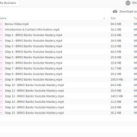 Download Brko Banks – Youtube Mastery