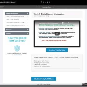 Download Joseph Davis – Digital Agency Masterclass