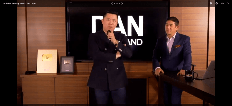 Download Dan Lok – Public Speaking Secrets