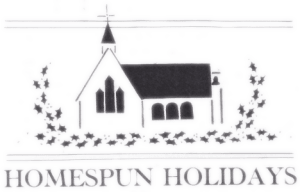 Homespun Holidays—Alternative Gift Giving Opportunity at