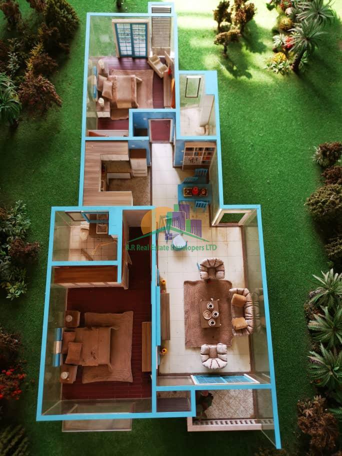 dream glory apartment, oysterbay, dar es salaam, tanzania floor plan, br real estate II