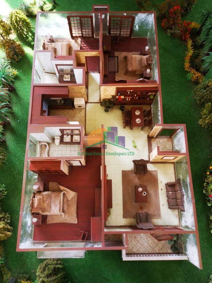 dream glory apartment, oysterbay, dar es salaam, tanzania floor plan, br real estate III