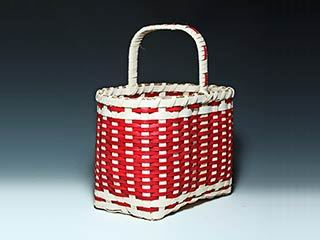 Photo of Billie Ruth Sudduth's Red Salem Basket