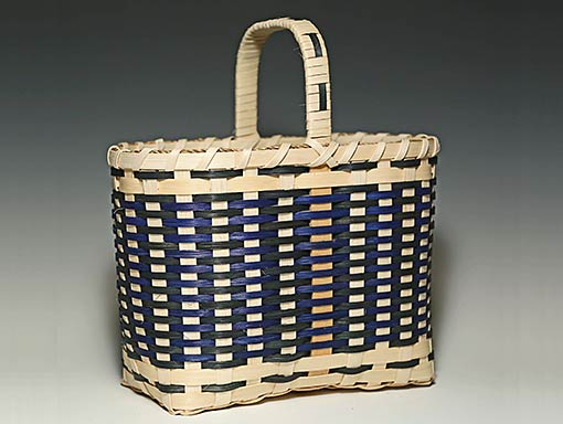 Photo of Billie Ruth Sudduth's Salem Basket in Blue and Green