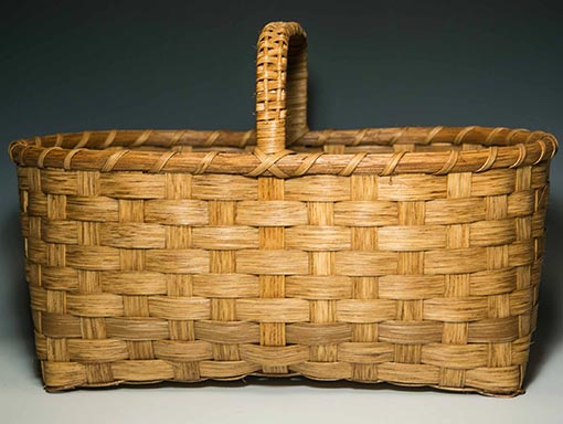 Photo of Billie Ruth Sudduth's Large Appalachian Market Basket