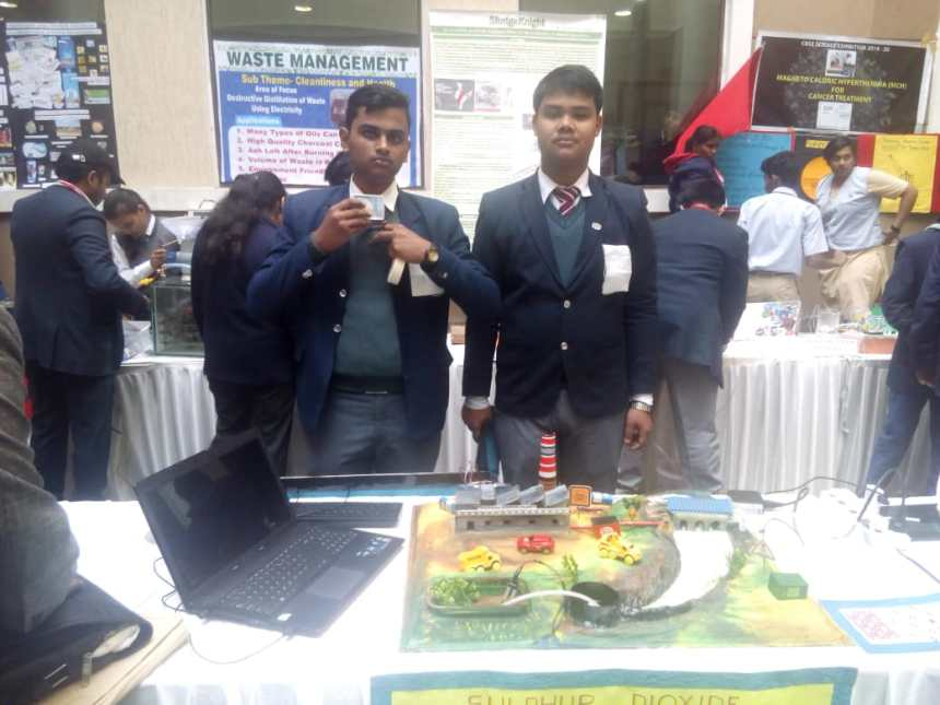 CBSE NATIONAL SC. EXHIBITION 2020 (Model)